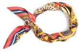 J.Crew Women's Fall Floral Silk Scarf