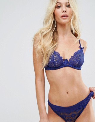 Lepel London Charlie Underwired Bra A-D Cup-Blue