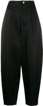 Amen High-Waisted Tapered Trousers