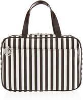 Henri Bendel Brown & White Large Hanging Weekender Bag