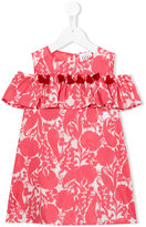 Douuod Kids - tassel trim printed dress - kids - Cotton - 2 yrs