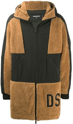 DSQUARED2 Hooded Wool Jacket