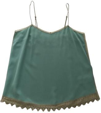 Zadig & Voltaire Green Silk Top for Women