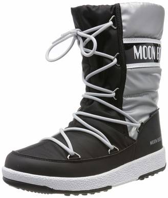Moon Boot Moon-boot Unisex Kids Jr Girl Quilted Wp Snow Boots