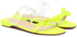 Christian Louboutin Just Nodo PVC-trimmed leather sandals