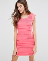 Lavand Paneled Dress
