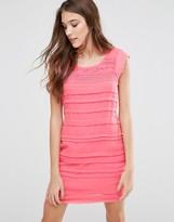 Lavand Panelled Dress