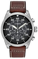 Citizen Chronograph Avion Stainless Steel Watch
