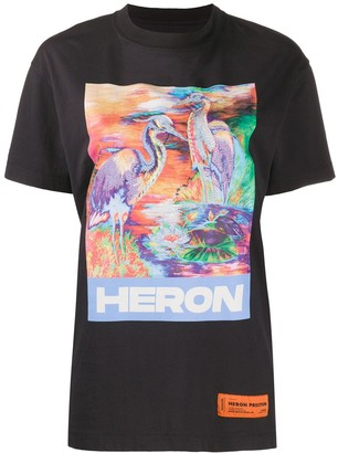 Heron Preston graphic print T-shirt