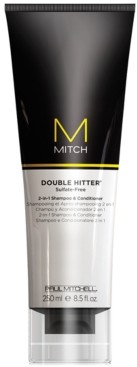 Paul Mitchell Mitch Double Hitter 2-In-1 Shampoo & Conditioner, 8.5-oz, from Purebeauty Salon & Spa