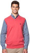 Chaps Men's Classic-Fit Solid Sweater Vest