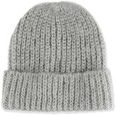 Topshop Women's Knit Beanie - Grey