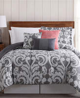 Pem America Lace Scroll 12-Pc. Queen Bedding Ensemble