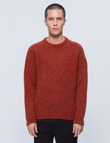 Our Legacy Needled Roundneck Raglan Sweater