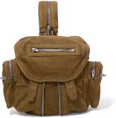 Alexander Wang Marti Mini Textured-nubuck Backpack - Tan