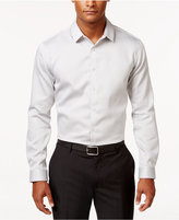 INC International Concepts Men's Non-Iron Striped Long-Sleeve Shirt, Only at Macy's