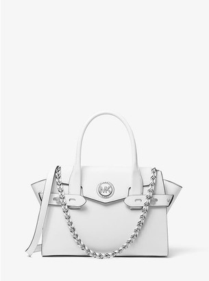 Michael Kors white Carmen bag