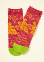 ModCloth Bard Act to Follow Socks