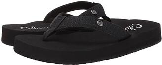 Cobian Cancun Bounce (Black) Women's Sandals
