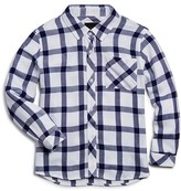 Rails Girls' Windowpane Plaid Button Down Shirt - Sizes 4-12