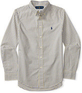 Ralph Lauren Long-Sleeve Poplin Shirt, Big Boys (8-20)