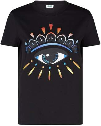 Kenzo Multicoloured Eye T-Shirt