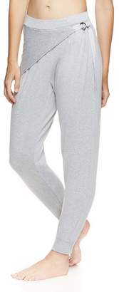 Gaiam X Jessica Biel Women's Casual Pants GREY - Gray Heather Bryant Wrap Joggers - Women