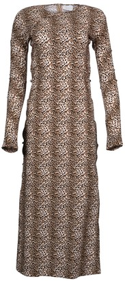 Leopard Print Tchikiboum Dress
