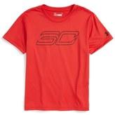 Under Armour Boy's Sc30 Heatgear T-Shirt