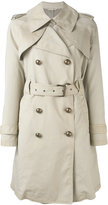 Fay trench coat - women - Cotton/Polyurethane - S