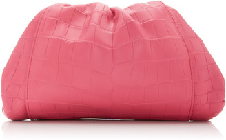 Bottega Veneta The Mini Pouch Crocodile Leather Clutch