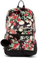 Madden-Girl Floral Velvet Backpack