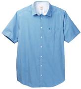 Original Penguin Short Sleeve Gingham Dress Shirt (Big & Tall)
