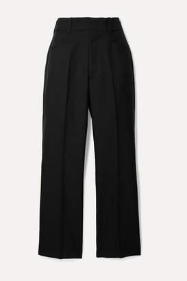 RE/DONE 70s Twill Wide-leg Pants - Black