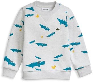 Lacoste Little Boy's & Boy's Croc & Duck Sweatshirt