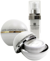 Diamond Face Cream, Serum and Peel Gel Kit