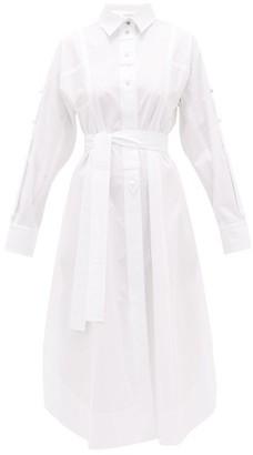 Sportmax Fanello Shirt Dress - White