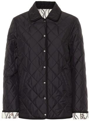 Salvatore Ferragamo Reversible quilted jacket