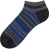 Uniqlo Men Fair Isle Short Socks