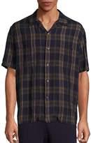 Vince Men's Cabana Short Sleeve Shirt