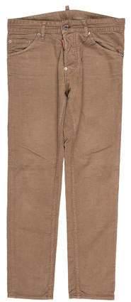 DSQUARED2 Logo-Embellished Corduroy Pants