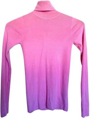 Sandro Fall Winter 2019 Pink Wool Knitwear