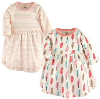 Baby Vision Touched By Nature Organic Cotton Long-Sleeve Dress, 2-Pack, 0 Months-5T
