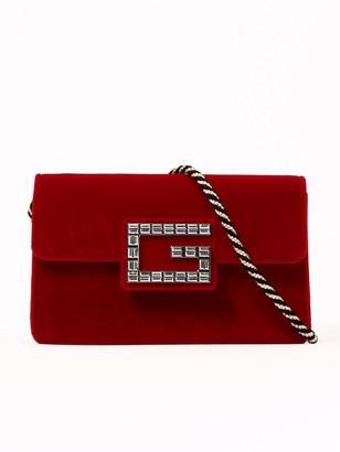 Gucci Mini Velvet Shoulder Bag