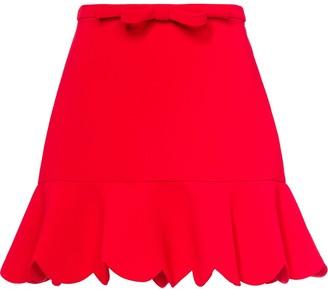 Miu Miu Faille cady skirt