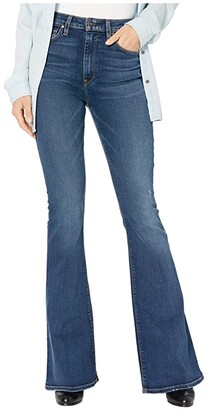 Hudson Holly High-Waist Flare in Prelude (Prelude) Women's Jeans