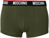 Moschino logo band trunk boxers