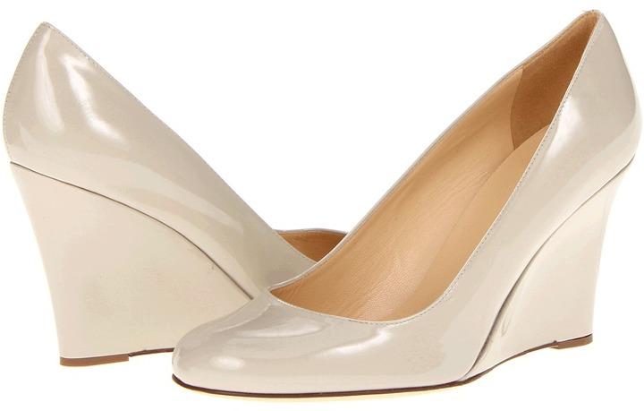 Kate Spade Kiki (Doe Taupe Patent) - Footwear