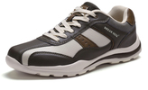 Khaki & Beige Lace-Up Athletic Sneaker - Men