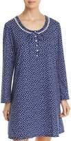 Eileen West Long Sleeve Short Sleepshirt